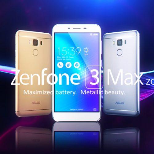 ASUS Resmi Luncurkan ZenFone 3 Max Series, Smartphone yang GaAdaMatinya!