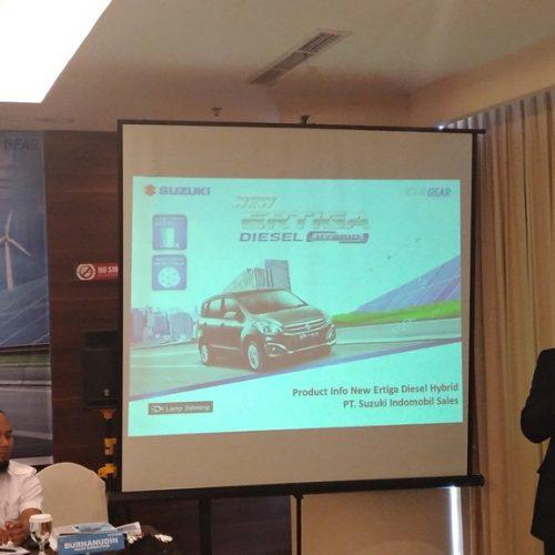 Suzuki Ertiga, Diesel Hybrid Pertama di Segmen Low MPV & BBM Paling Irit