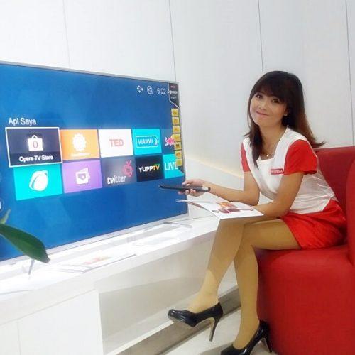 Polytron Luncurkan TV LED 4K Smart Ultra HD Berkualitas Bioskop