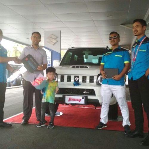Akhirnya, Dua Unit Suzuki Jimny Sampai Ketangan Konsumen Riau