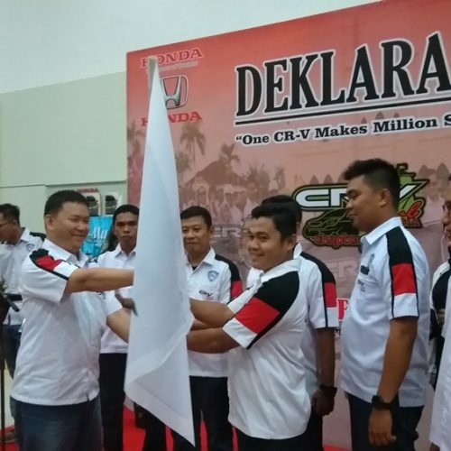 CR-V Club Indonesia (CCI) Chapter Riau Deklarasikan Diri
