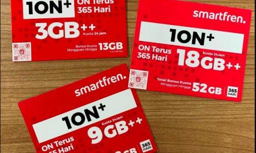 Smartfren Rilis Dua Varian Baru Kartu Perdana 1ON+