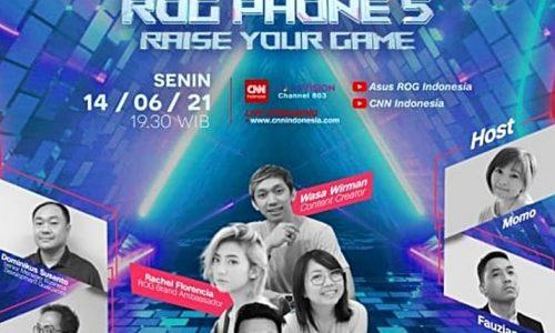 14 Juni, Jajaran ROG Phone 5 Series ke Indonesia