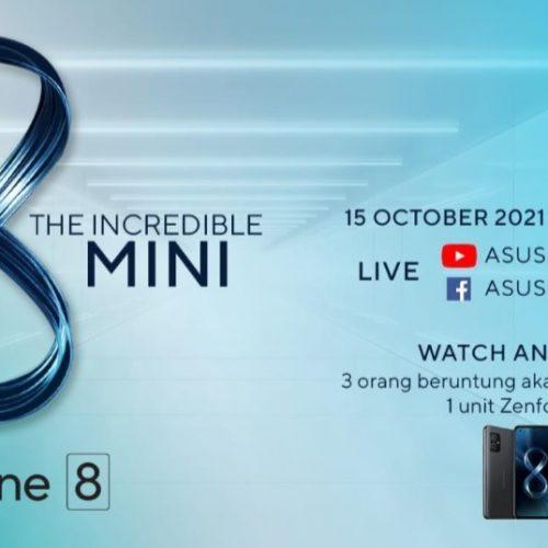 Besok ASUS Zenfone 8 Mini Serbu Pasar Indonesia